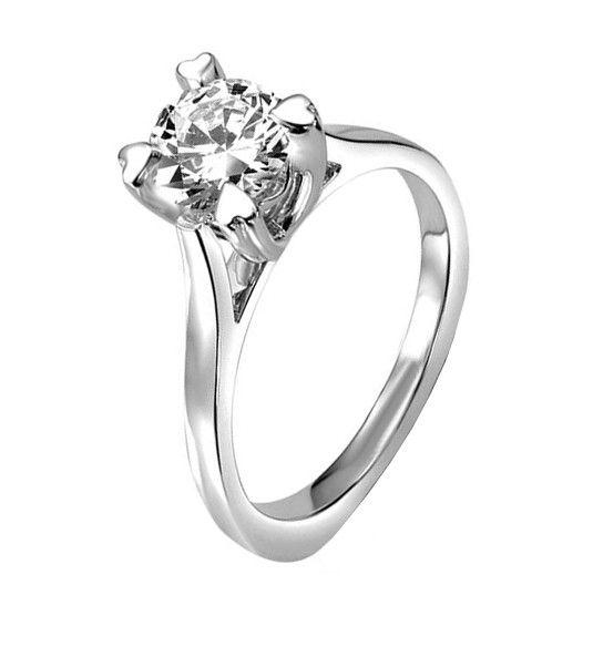 Solitario de diamantes modelo PATRICIA