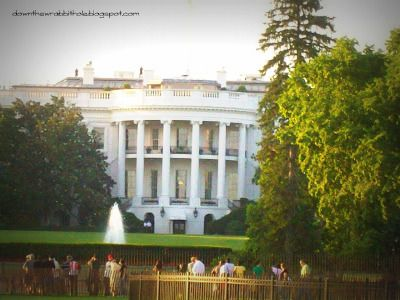 "Visit the Whitehouse and maybe see the President! Find out more at ""Down the Wrabbit Hole - The Travel Bucket List"". Click the image for the blog post."