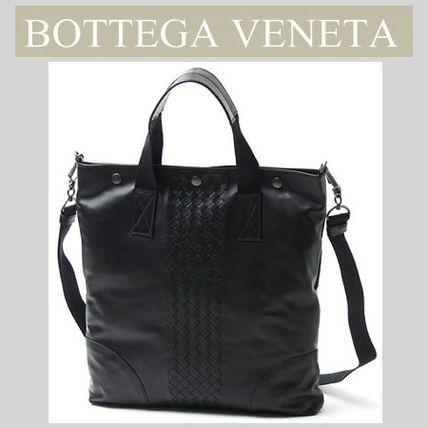 BOTTEGA VENETA(ボッテガヴェネタ) トートバッグ 男女兼用可♪★ Bottega Veneta ★イントレチャート トート 2WAY