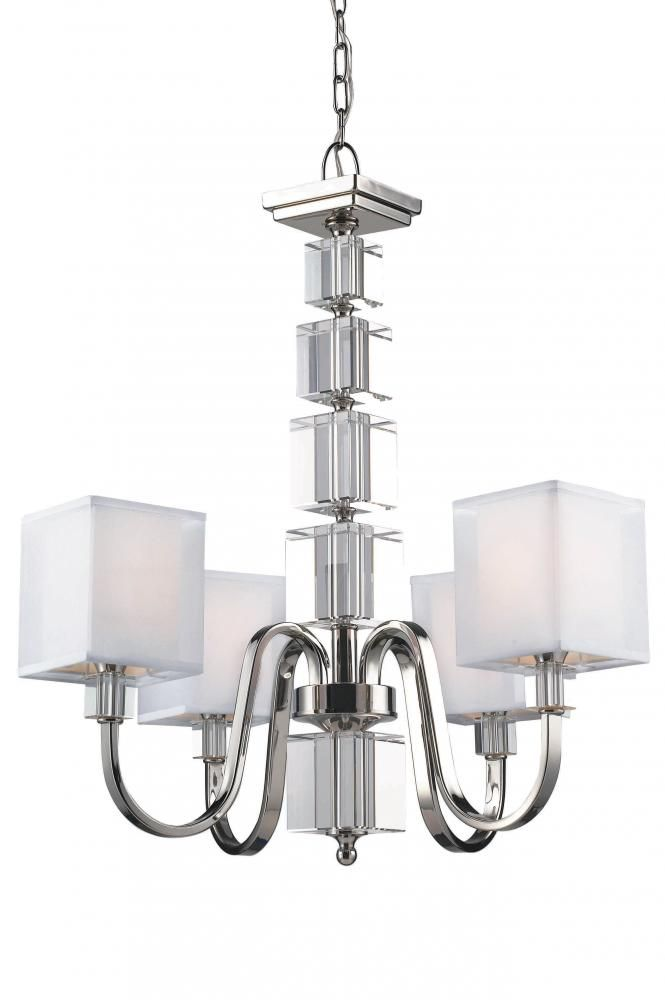 4 Light Chandelier : 3041JD0 | Richardson Lighting