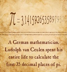 Fact about Pi