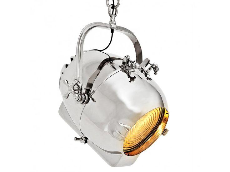 Lampa Wisząca Spitfire srebrna — Lampy wiszące Eichholtz® — sfmeble.pl