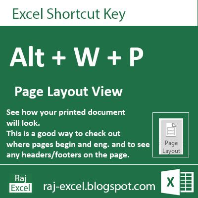 Microsoft excel autocorrect shortcut