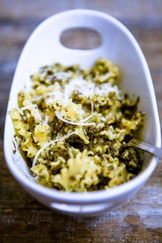 Pasta mit Pilz-Pesto - Mit Liebe