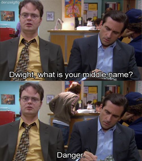 As long as you remember confidence is key on the inside…   25 Important Life Tips We Learned From Dwight K. Schrute