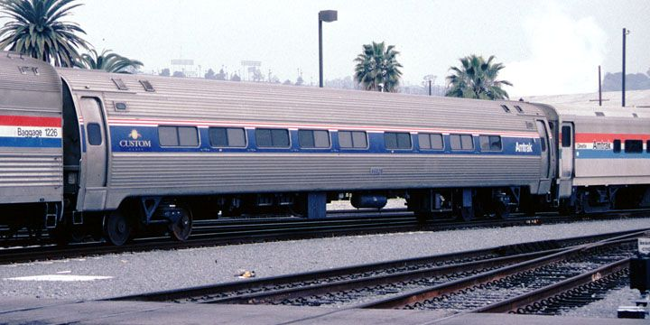 Amtrak 44826 Budd Amfleet1 Custom Coach Car Amtrak Train