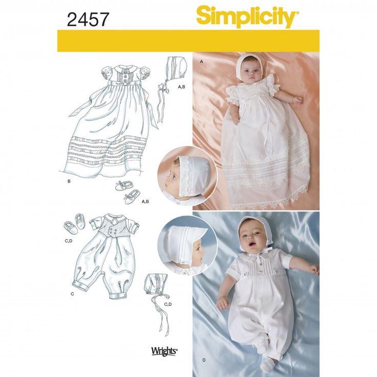 Mejores 31 imágenes de Baby Ideas en Pinterest | Costura heirloom ...