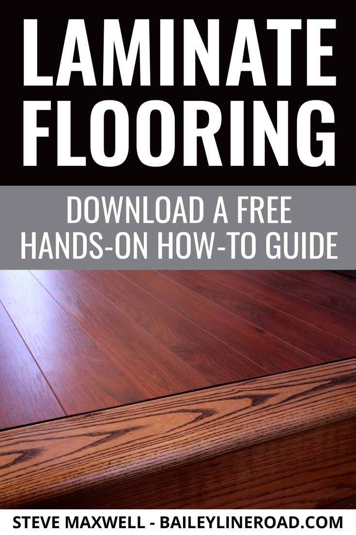 LAMINATE FLOORING Download Your Free & Detailed DIY How