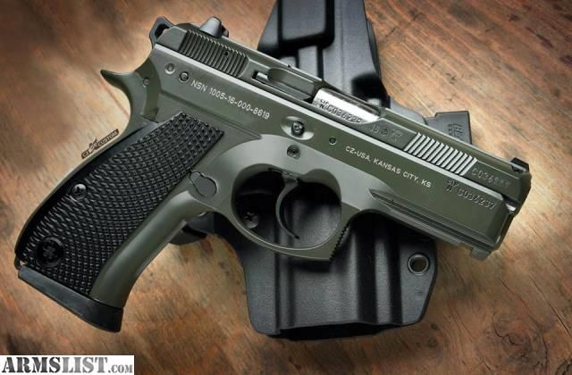 ARMSLIST - For Sale: CZ Custom 75 P01 OD 9mm not SP-01 Glock Springfield FN S&W Colt EAA Ruger