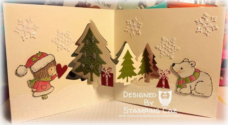 Karen burniston pop it ups designer challenge christmas