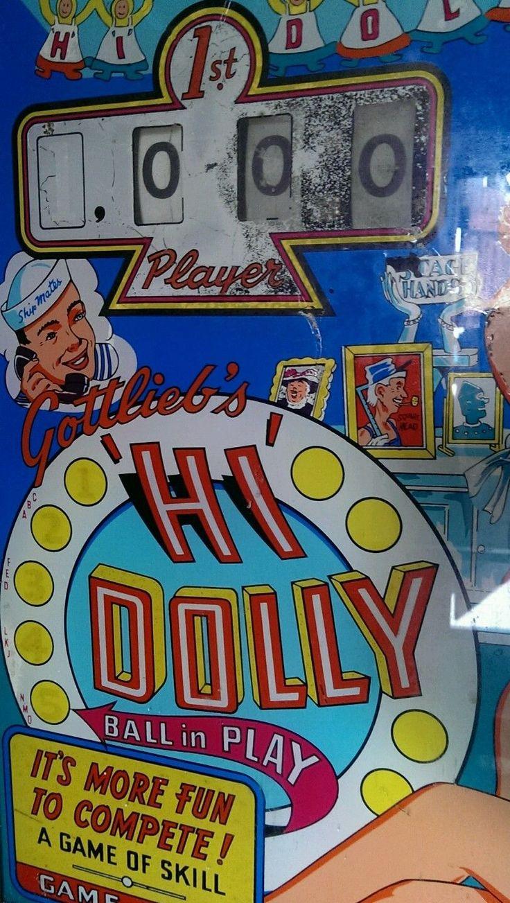 school pinball machine