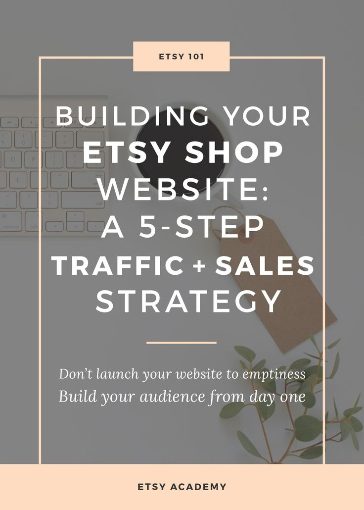 The bottom line about e-commerce websites is not what platform you use but how you plan on driving traffic. Because if you can get traffic to go anywhere, then who really cares where you send it? Today we're going to learn the 5-Step strategy you need for consistent website traffic that just keeps coming!