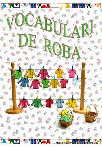 VOCABULARI DE ROBA - brichi Monferrer - Álbumes web de Picasa