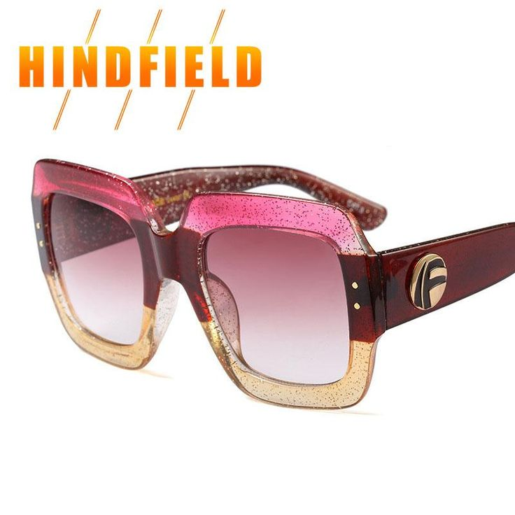 Big Square Sunglasses for Women 2018 New Brand Designer Oversized Luxury Logo Eyewear Female Oculos UV 400