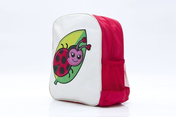 My Little Lady Bug Backpack from Woddlers, buy now at Mamadoo