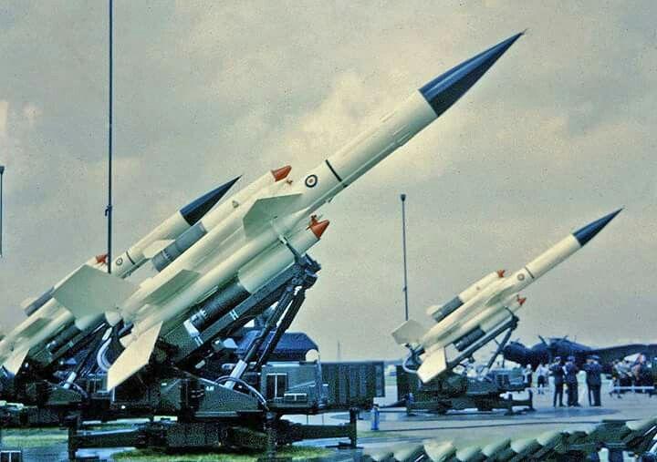 Bloodhound Missiles at RAF Abingdon,1968