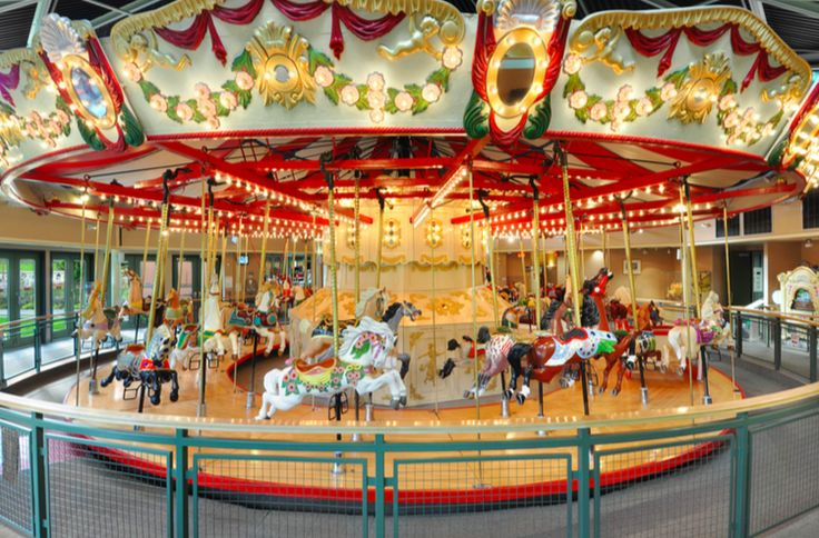 C.W. Parker Carousel #119 at Burnaby Village Museum submitted by Burnaby Village Museum & Carousel