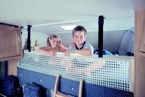 Sikkerhetsnett  i gruppen Campingmøbler / Soverom / Soverum hos Campingtillbehör4U (204417r)