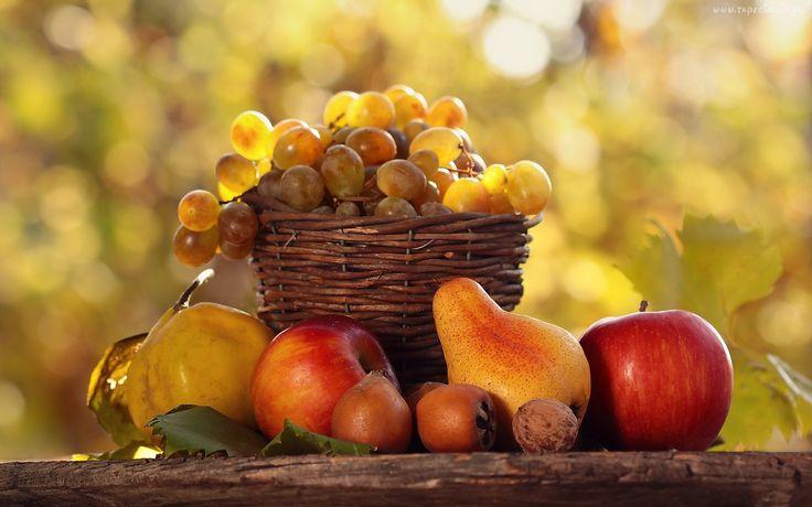 Owoce, Jesieni, Kosz