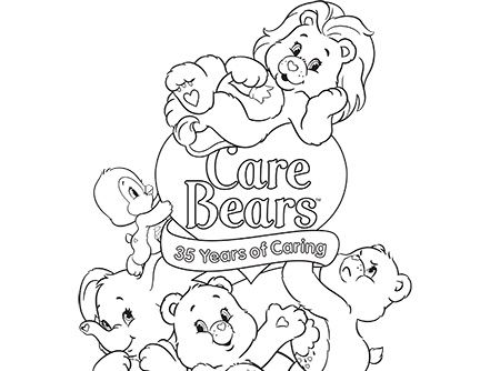 care bears cousins coloring pages - photo#30