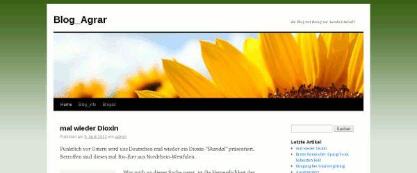Blog Agrar
