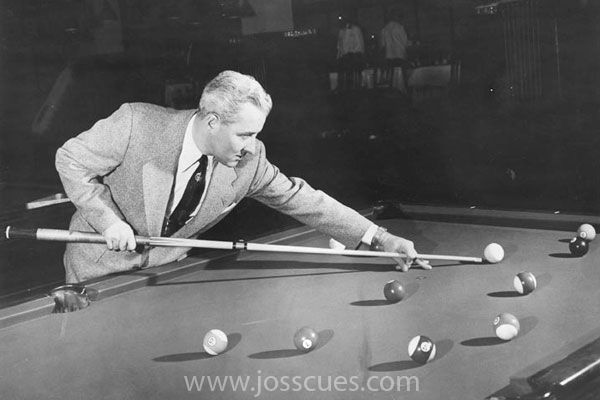 Willie Mosconi  was an American professional pool player from . Between the years of 1941 and 1957, he won the World Straight Pool Championship an unmatched fifteen times.