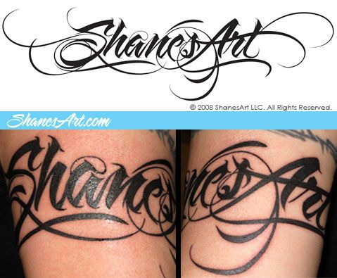 Cool Script Tattoo Fonts Images By Denise Wells Love The