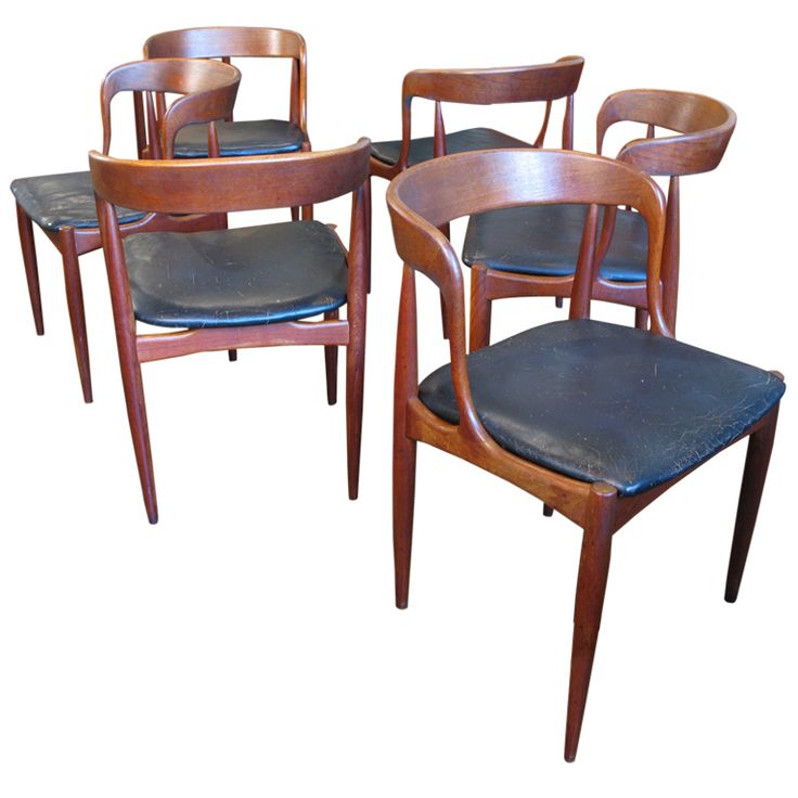 Johannes Andersen Chairs Dining Teak And Dining Chairs