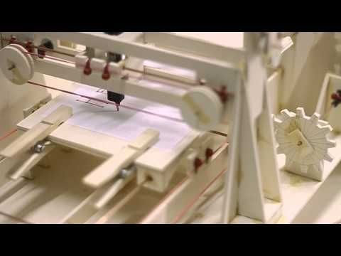Plotter made out of cardboard