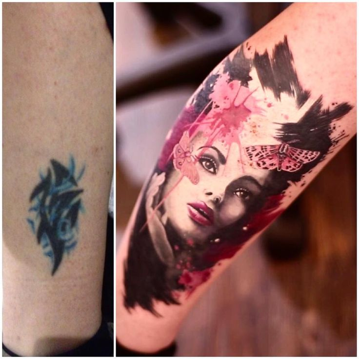 Cover up by Nancy Mietze, Horror Tattoos, SIXX