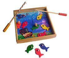 Pesca en Caja de Madera