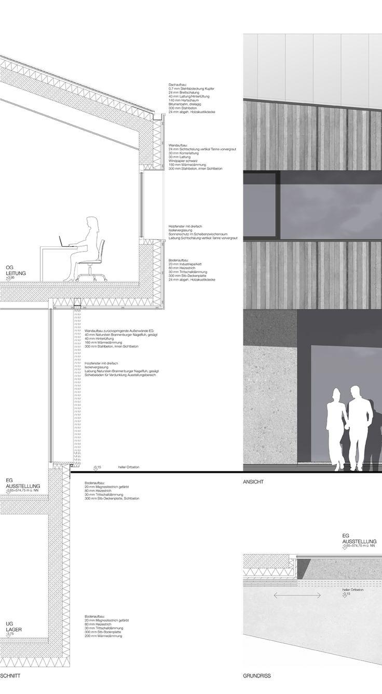 1st Prize Realisierungsteil: Fassadenschnitt