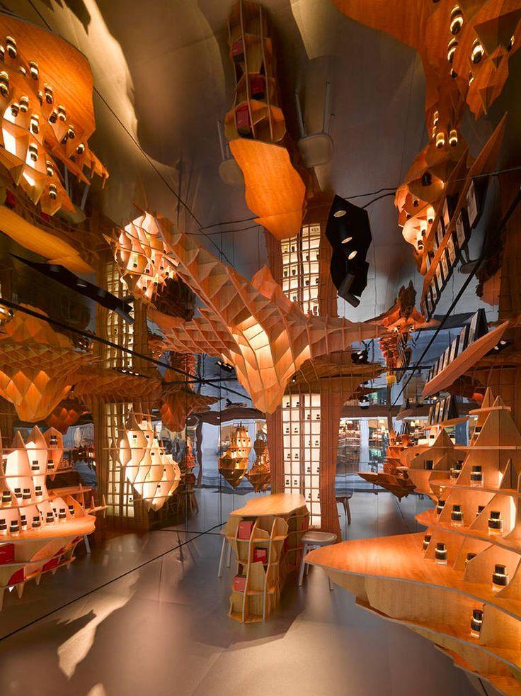 Incredible Interior Design of a Parisian Perfume Store – Fubiz Media