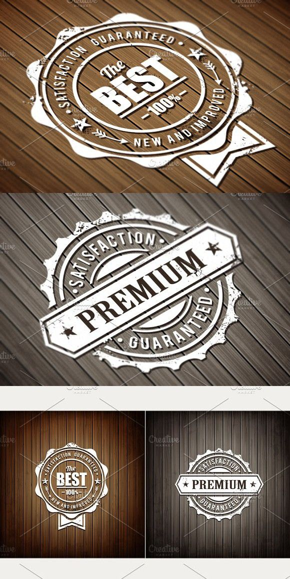Vector Quality Stamps #vector #design | Premium Design | Graphic