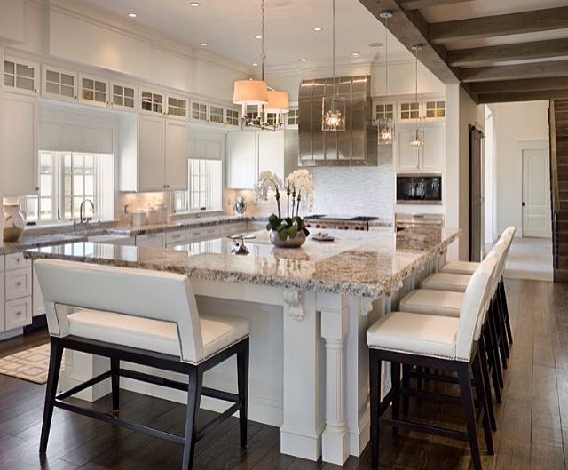 Beautiful Kitchens With Islands Enchanting Best 25 Large Kitchen Island Ideas On Pinterest  Large Kitchen Design Ideas