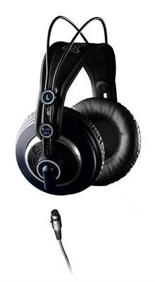 The K240 MKII professional over-ear, semi-open headphones are a long-time standard in studios, in orchestras and on stages around the world. Its advanced Varimotion 30 mm XXL transducers deliver solid