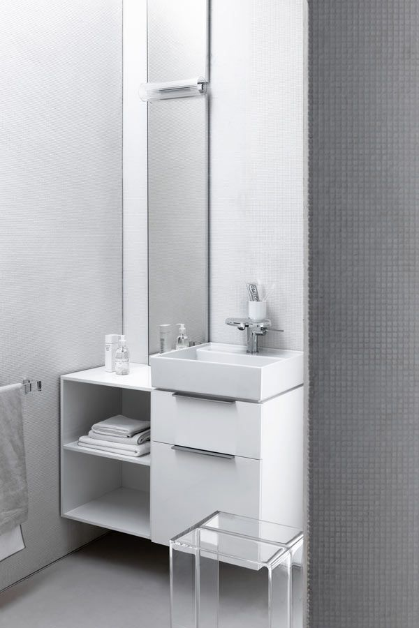 There is always room for #welldesigned #products - even more so in the smallest of spaces #kartellbylaufen #bathroom