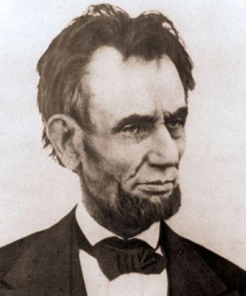 偉人たちの最後に撮られた写真 エイブラハム・リンカーン 第16代アメリカ合衆国大統領