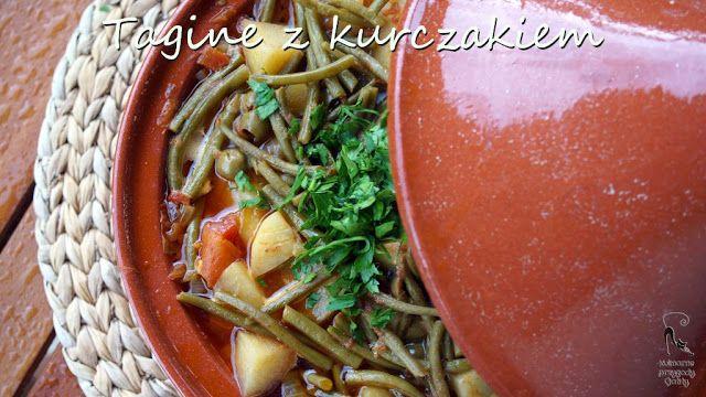 Kulinarne przygody Gatity: Tagine  z kurczakiem i oliwkami
