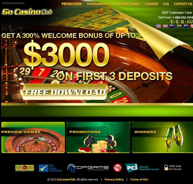 bonus casino no deposit 2013