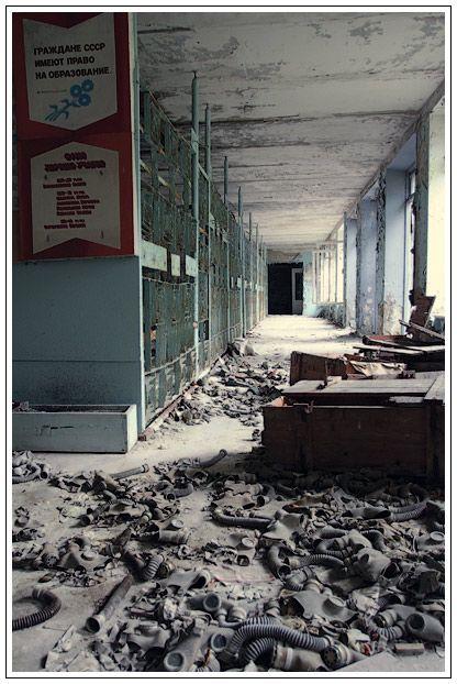 pripyat tchernobyl ville fantome 19 Ville fantôme de Pripyat près de Tchernobyl  Plus de découvertes sur Souterrain-Lyon.com