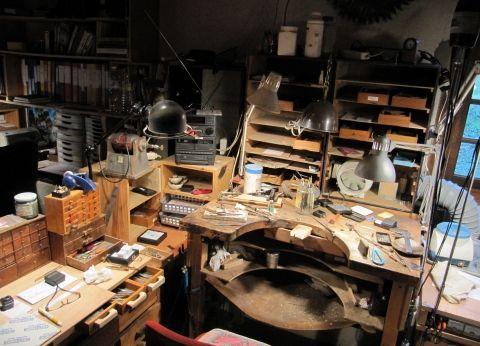 Atelier artisanal de fabrication des bijoux