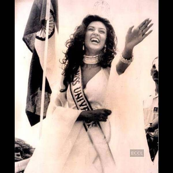 Sushmita Sen: Rare images and the stories behind them