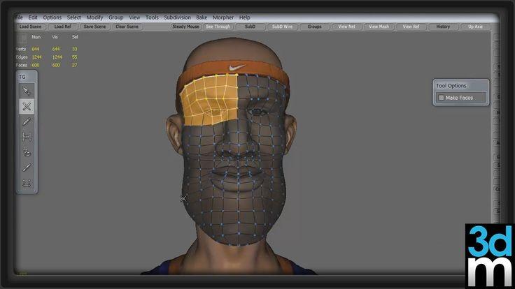 Topogun: Edgeloop Retopology for Animation - 3dmotive