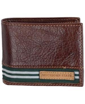 Jack Mason Michigan State Spartans Tailgate Traveler Wallet - Brown