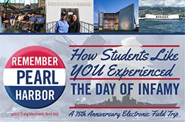 Remember Pearl Harbor: How Students Like YOU Experienced the Day of Infamy - The National World War II Museum On December 7, 2016—the 75th anniversary of the attack on Pearl Harbor—The National WWII Museum and New Orleans PBS member station WYES will webcast a live student program focusing on the events of that momentous day. This program will give students from across the country the chance to watch live as two student reporters deliver updates from New Orleans & Hawaii