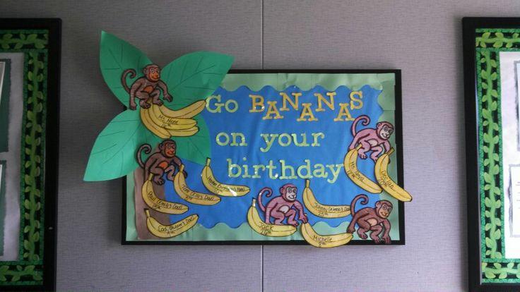 August birthday board 2013 | pto | Pinterest | Birthday ...