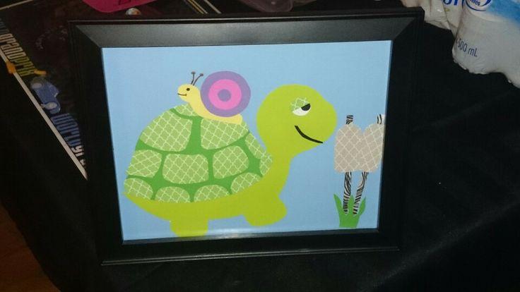 Turtle Nursery art work