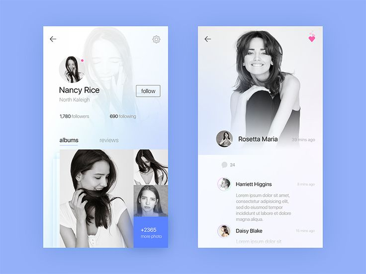 Fashion Model Interface Concept by liricooo #Design Popular #Dribbble #shots