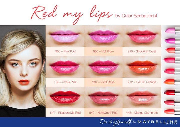 Red my lips by Color Sensational